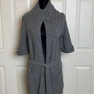 Short Sleeve Cardigan Sweater